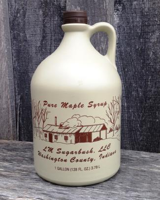 One Gallon Pure Maple Syrup