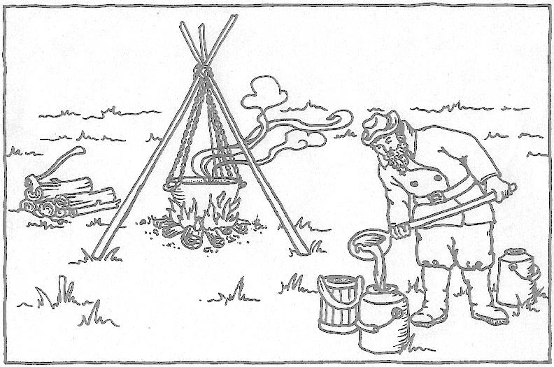 pioneer maple syrup making